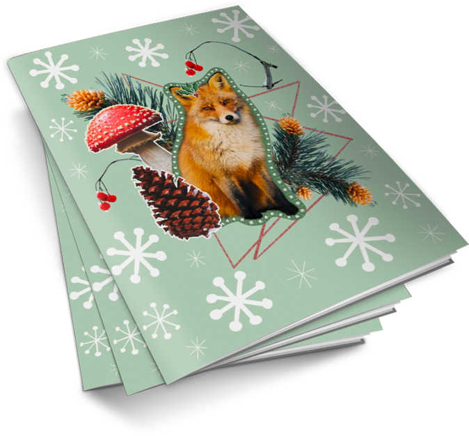 [FREE DOWNLOAD] Printable Winter Season Holiday Cards