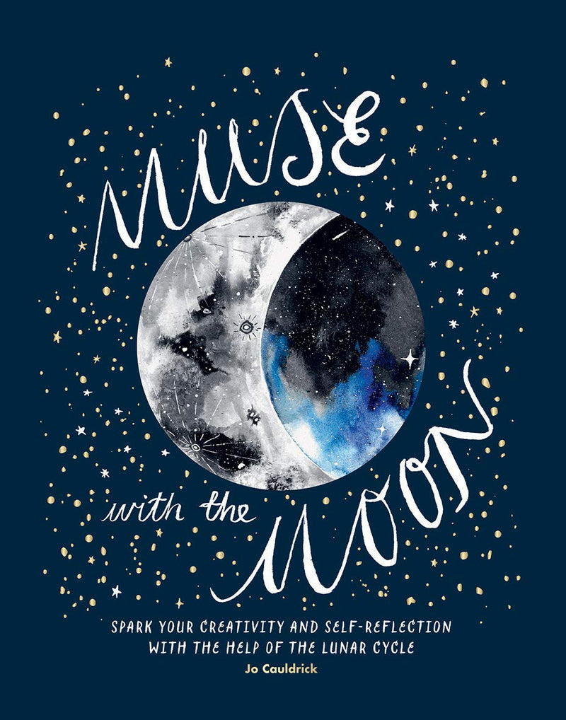Muse with the Moon by Jo Cauldrick
