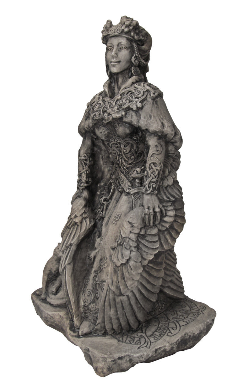 Stone Finish Freya Statue