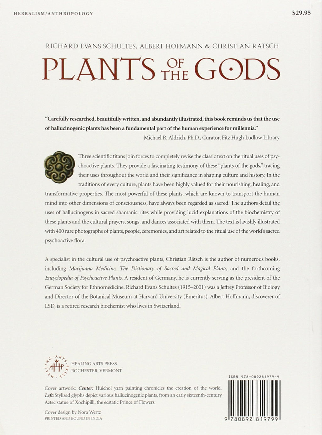 Plants of the Gods by Richard Schultes