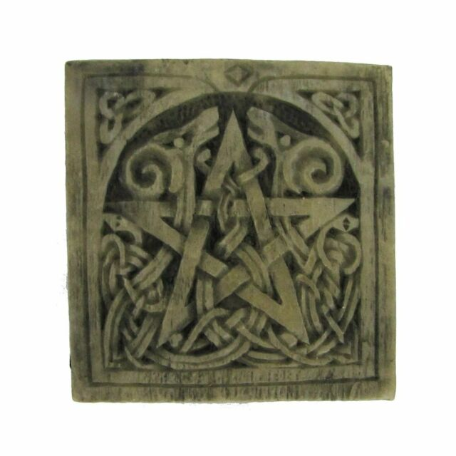 Small Pentacle Plaque (Various Finishes)