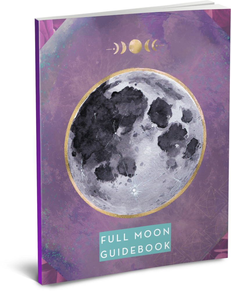 [FREE DOWNLOAD] Full Moon Guidebook & Coloring Page