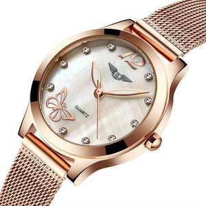 GUANQIN Luxury Brand Ladies Wristwatch Synthetic Sapphire Glass Fashion Women Dress Watch GS19042 Womens' Fashion Accessories 1 Fashion & Tech Shop