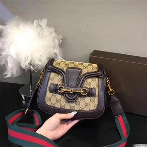 hot sale designer crossbody messenger bags luxury famous brand handbags good quality leather bags classical style saddle bag dust bag box Bags & Wallets chocolate style 2 Fashion & Tech Shop