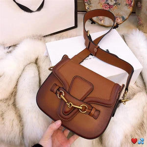 hot sale designer crossbody messenger bags luxury famous brand handbags good quality leather bags classical style saddle bag dust bag box Bags & Wallets Green style 2 Fashion & Tech Shop