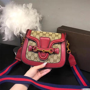 hot sale designer crossbody messenger bags luxury famous brand handbags good quality leather bags classical style saddle bag dust bag box Bags & Wallets Red style 2 Fashion & Tech Shop