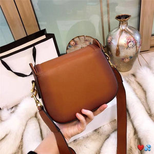 hot sale designer crossbody messenger bags luxury famous brand handbags good quality leather bags classical style saddle bag dust bag box Green style 2 Fashion & Tech Shop