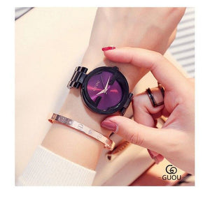 New Luxury Women Watches Women Fashion Bracelet Watch Quartz Wrist Watch For Women Top Brand Gold Ladies Casual Watch Clock 2018 Womens' Fashion Accessories black purple Fashion & Tech Shop