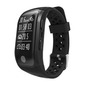 S908 GPS Smartband GPS Heart Rate / Bluetooth 4.2 Pedometer Band IP68 Waterproof Sprot Wristbands Fitness Fitness Sport Tracker black Fashion & Tech Shop
