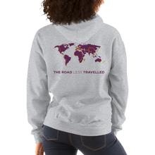 Load image into Gallery viewer, TDA world map hoodie