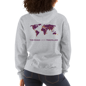 TDA world map hoodie