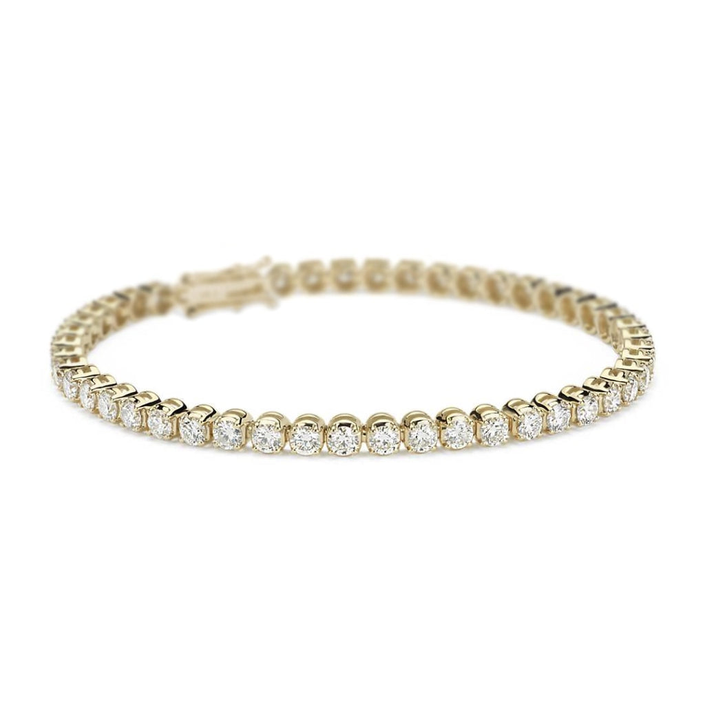 Eleanor Diamond Tennis Bracelet in 18K Gold