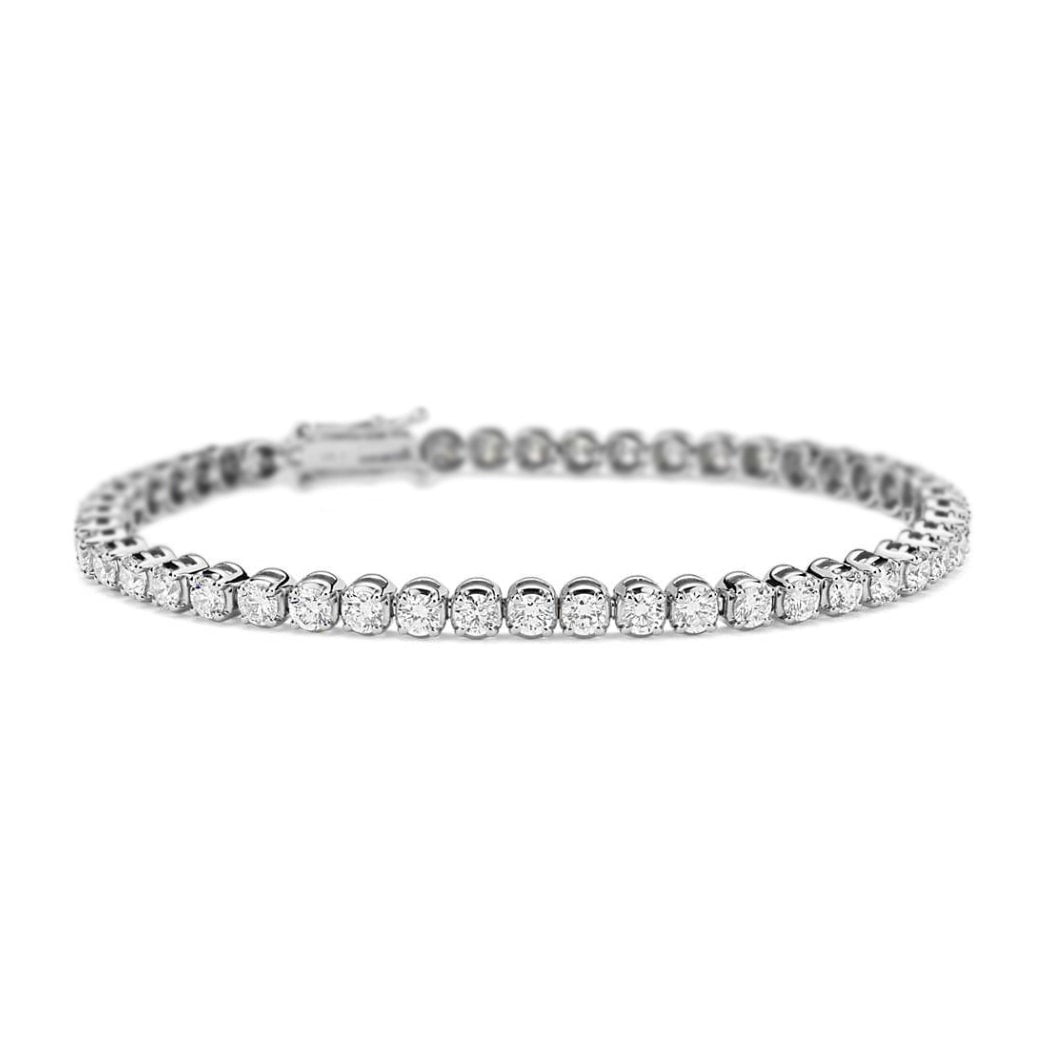 Eleanor Diamond Tennis Bracelet in 18k White Gold
