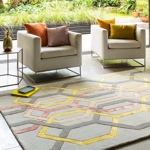 Matrix - Hexagon Rug
