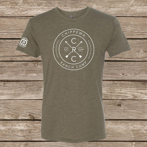Chippewa Arrow Tee- Military Green