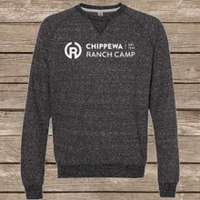 Load image into Gallery viewer, Chippewa Ranch Camp Snow Heather Crewneck Sweatshirt (Multiple Color Options)