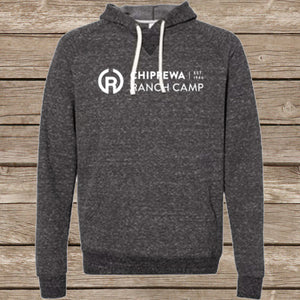 Chippewa Ranch Camp Snow Heather Hooded Sweatshirt