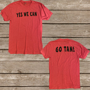 Tan Team Spirit Tee