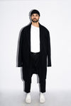 Le Manteau Over-Size Black Homme