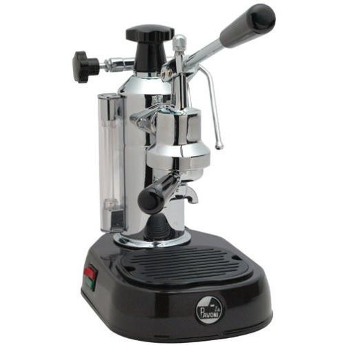 La Pavoni Europiccola Manual Espresso Machine - Black EPBB-8-Lowest Prices Online at Barista Boss