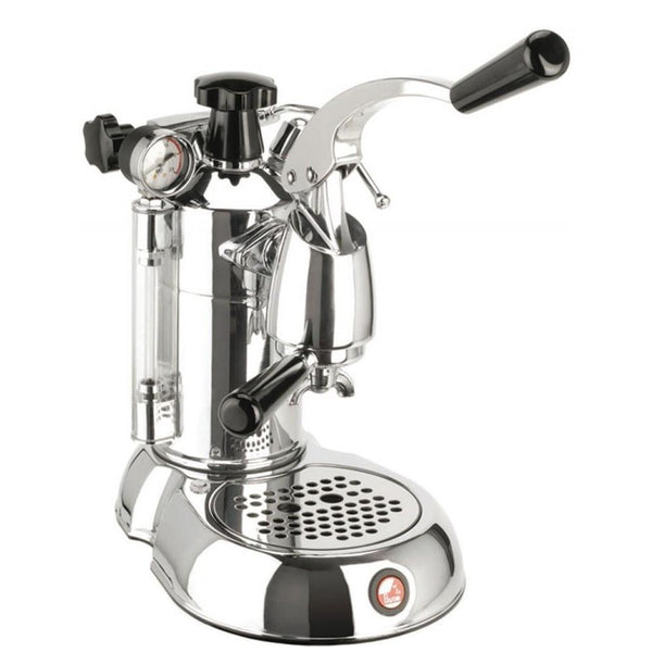 La Pavoni Stradivari Manual Espresso Machine - Chrome - PSC-16-Lowest Prices Online Barista Boss