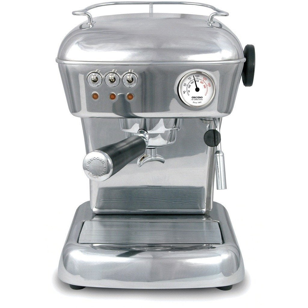 Ascaso Dream Up V3 Polished Aluminum Espresso Machine-Lowest Prices Online Barista Boss