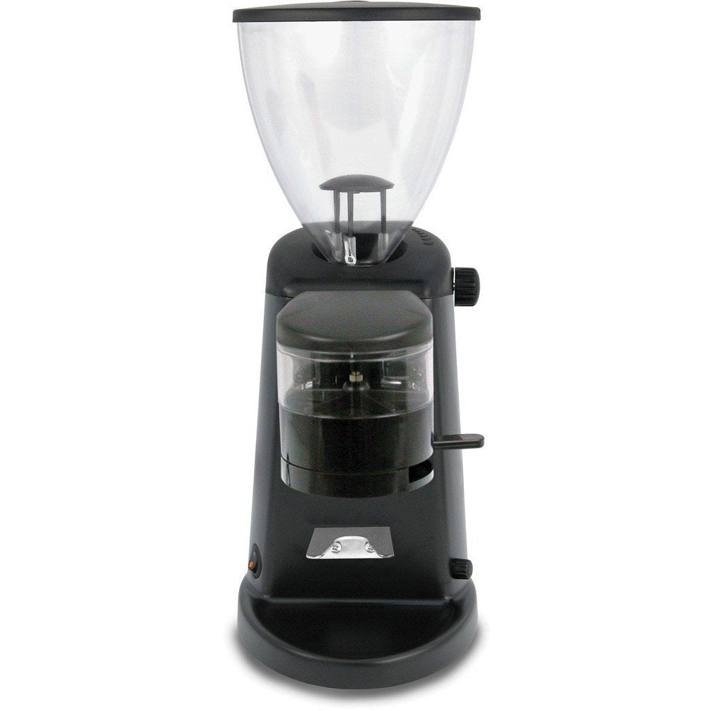 Ascaso I-1D Flat Burr Doser Stepless Espresso Coffee Grinder dark black