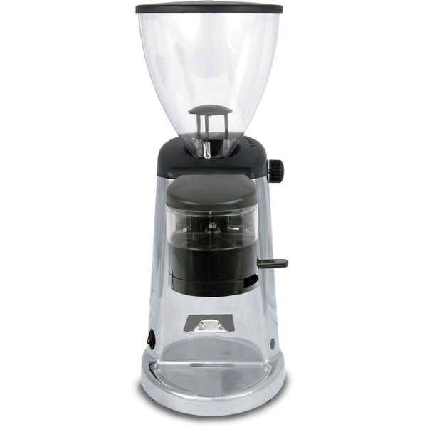 Ascaso I-2D Espresso Coffee Grinder – stepless, doser, conical burr, polished aluminum