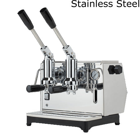 Ponte Vecchio Lusso Espresso Machine - 2 Group - Stainless Steel