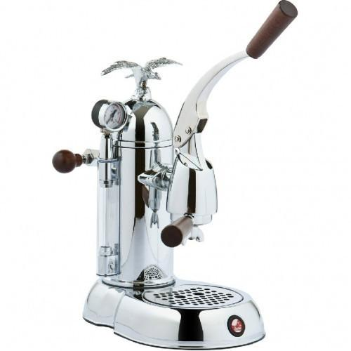 La Pavoni Romantica Chrome Espresso Machine - PGL-16-Lowest Prices Online Barista Boss