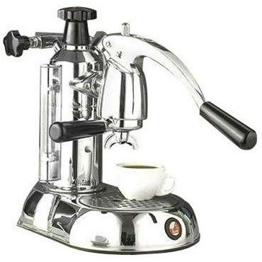 La Pavoni Stradivari Manual Espresso Machine - Chrome - ESC-8