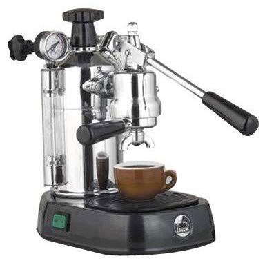 La Pavoni Professional Manual Espresso Machine - Black Base - PBB-16-Lowest Prices Online Barista Boss