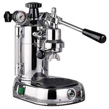 La Pavoni Professional Manual Espresso Machine - Chrome Base - PC-16-Lowest Prices Online Barista Boss