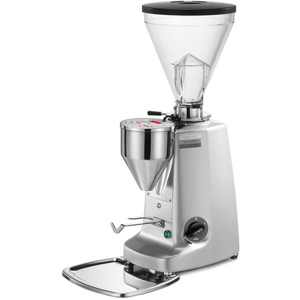 Mazzer Super Jolly Electronic Espresso Grinder - Silver