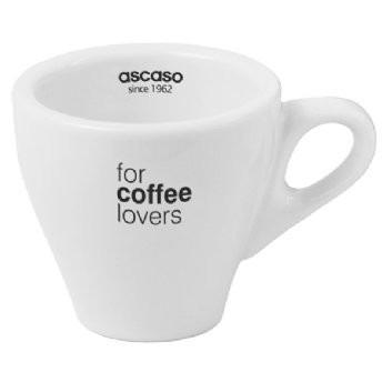 Ascaso Espresso Cups/Saucers - Set Of 6