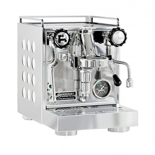 Rocket Appartamento Espresso Machine - White-Lowest Prices Online at Barista Boss