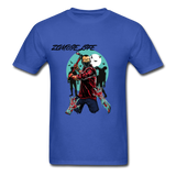 Zombie Tee - royal blue