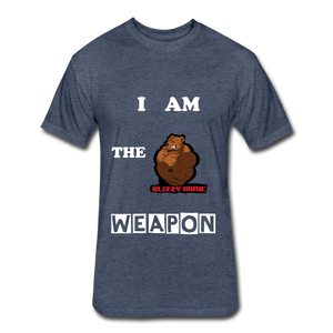 I am the weapon. - heather navy