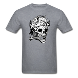 King Skull Tee - mineral charcoal gray