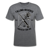Fall in Reverse Tee - mineral charcoal gray