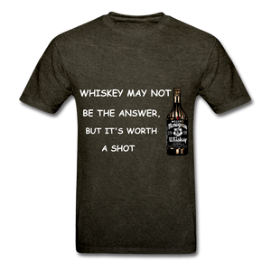 Whiskey Tee - mineral black