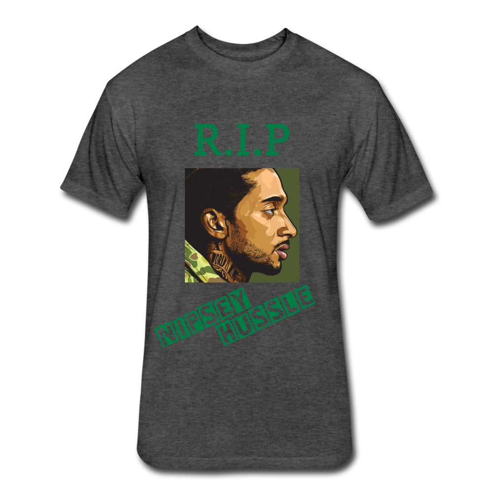 RIP Nipsey Tee - heather black