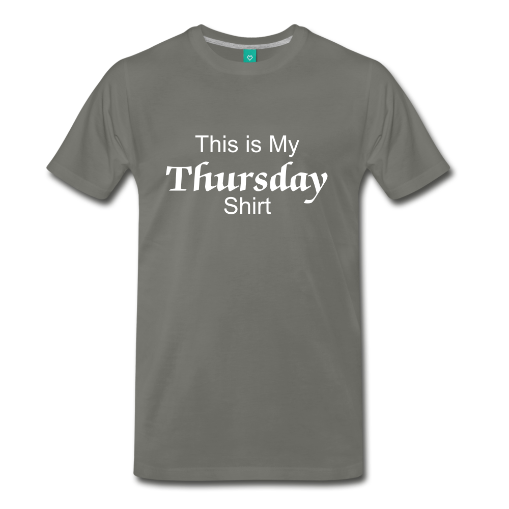 Thursday Shirt - asphalt gray