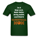 Im a bball mom tee - forest green