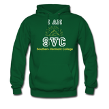 I Am SVC Hoodie. - forest green