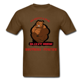 Bliz & Home Tee - brown