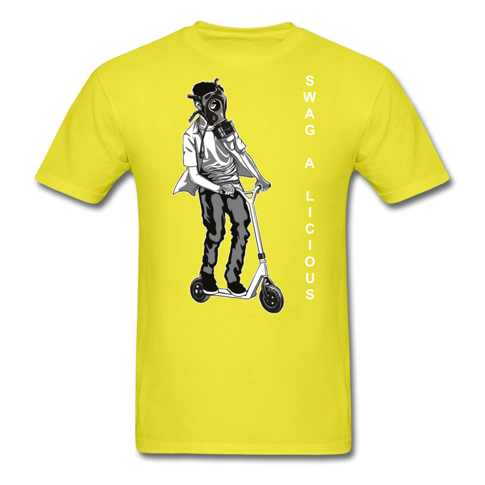 Swag-A-Licious Tee - yellow