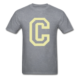 C Tee - mineral charcoal gray