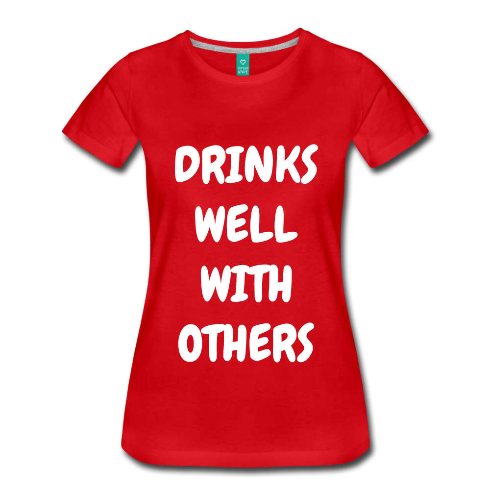 DRINKS WELL - red