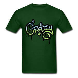 Crazy Tee - forest green